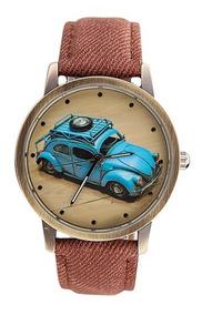 Relógio Pulso Vw Fusca - Vintage - Retrô