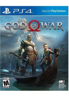 God Of War Ps4 - Lanzamiento - Nuevo - Fisico