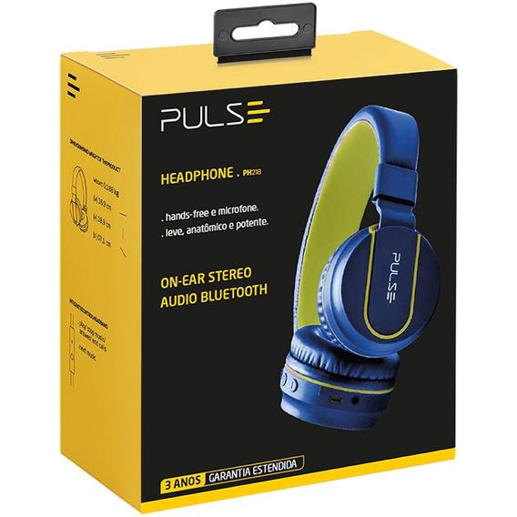 Fone De Ouvido Pulse Fun Bluetooth Series Azul-verde Ph218