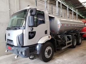 Ford Cargo 2629 Ano 2013 Tanque Pipa Gascom Completo