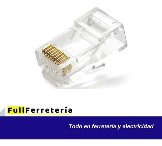 Terminal Para Cable Pc O Internet Rj45 10 Unidades