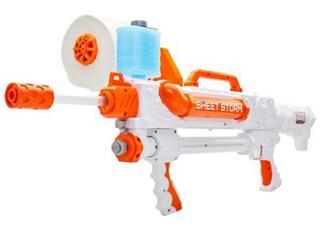 Pistola De Papel De Baño Nueva Toilet Blaster Bola De Papel