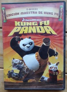 Dvd Kung Fu Panda Edición Maestra 2 Discos Originales