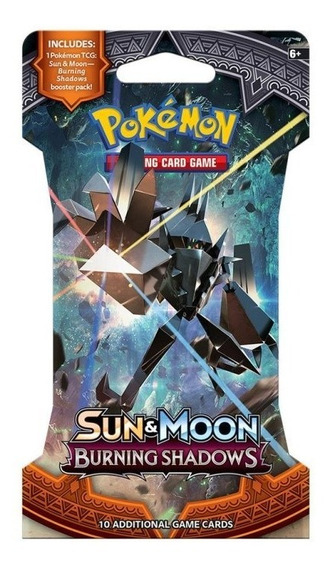 Coleccion Cartas S&m Burning Shadows Sleeved Booster Pokemon