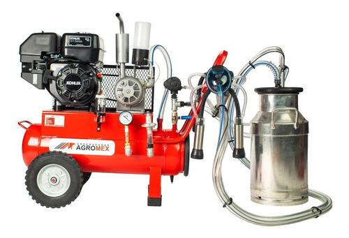 Imagen 1 de 9 de Máquina Ordeñadora Para Una Vaca Motor A Gasolina Agromex