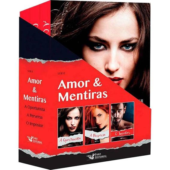 Box Amor E Mentiras T. Fishe+box Para Amar Clarice