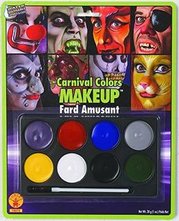 Traje De Maquillaje De Color Carnaval De Rubie