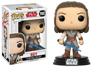 Funko Pop 190 Rey Star Wars Playking