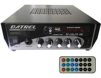 Receiver Amplificador Som Ambiente 200w Rms Usb/fm/bluetooth