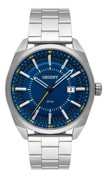 Relógio De Pulso Orient Masculino Mbss1346 D1sx - Prata