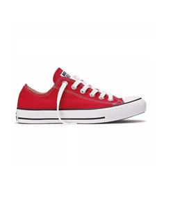 zapatillas tipo converse niño rojas