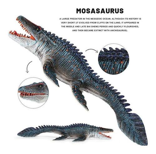 Imagen 1 de 2 de Juguete De Dinosaurio, Mosasaurio, La Boca Puede Moverse