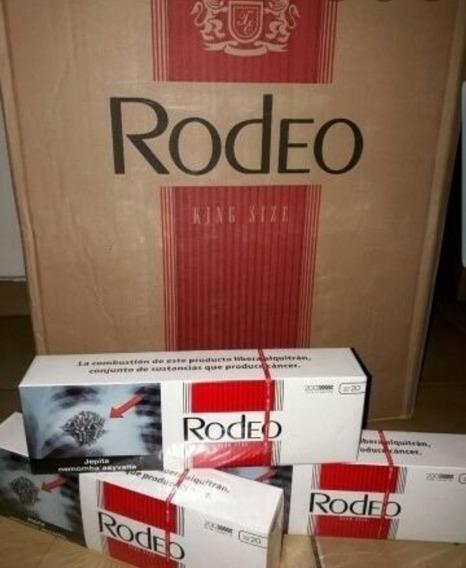Rodeo Caja Completa 50 Tiras De 10 Paquetes