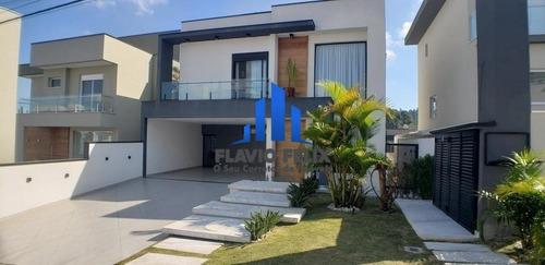 Casa Venda Em Condominio Completamente Mobiliada E Decorada 3 Suítes Amplas - 655