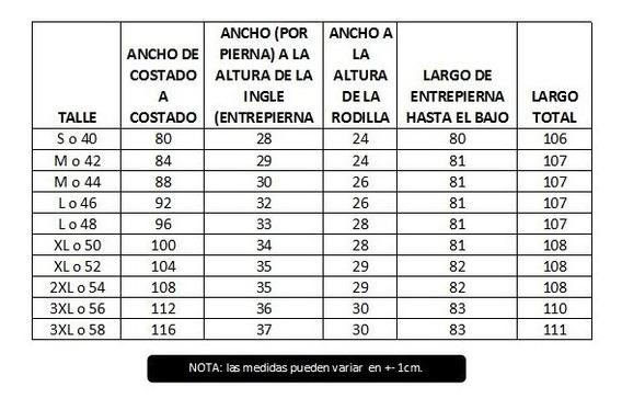 Pantalon Cargo Reforzado Linco El Mejor Del Mercado T.50-58