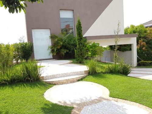Casa Com 4 Dormitórios À Venda, Com Sauna E Jacuzzi, 271 M² Por R$ 1.150.000 - Ibi Aram - Itupeva/sp - Ca0404