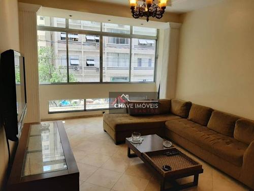 Imagem 1 de 25 de Apartamento Com 2 Dormitórios À Venda, 110 M² Por R$ 550.000,00 - Boqueirão - Santos/sp - Ap2769