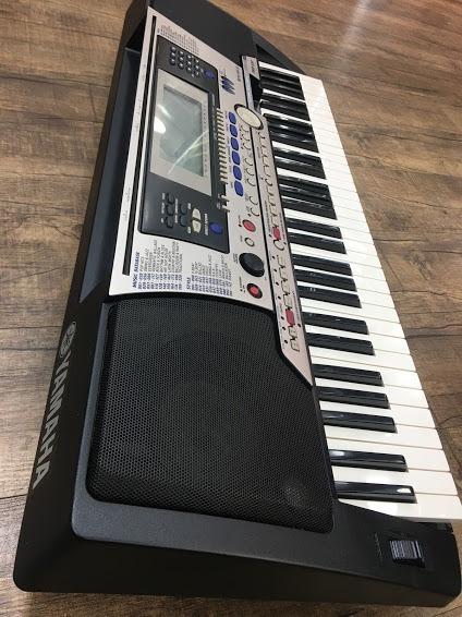 Teclado Yamaha Psr550 Usb Pen Drive Ritmo E Play Back Comple