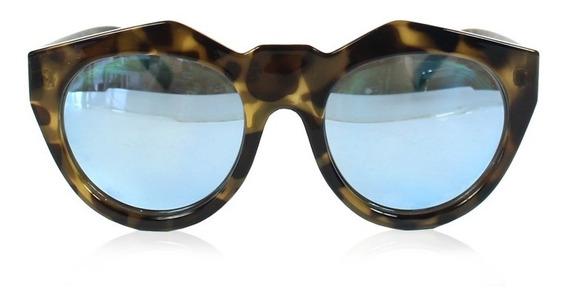 Óculos Le Specs Neo Noir Espelhado Azul Le Specs