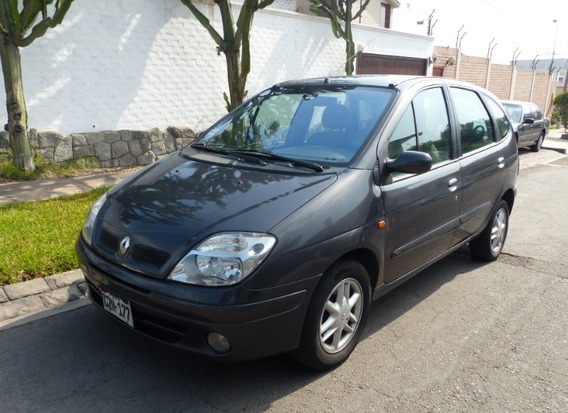 Renault Scénic 2003, Motor 1.6 Dual Gnv, Mecánico, Remato.