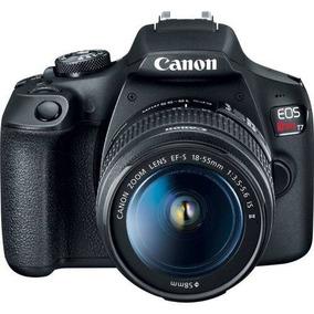 Câmera Canon Eos Rebel T7 Kit Ef-s 18-55mm Is Ii Br