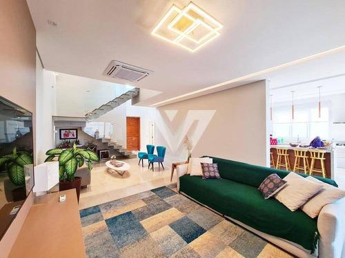 Imagem 1 de 21 de Sobrado Com 3 Dormitórios À Venda, 305 M² -  Condomínio Residencial Monte Carlo - Sorocaba/sp - So1280