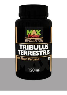 Tribulus Com Maca Peruana Max Power 600mg 120 Cps