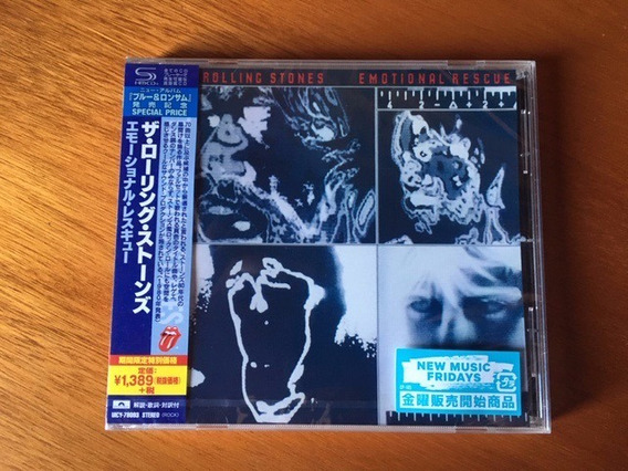 Rolling Stones Emotional Rescue Shmcd Made In Japan