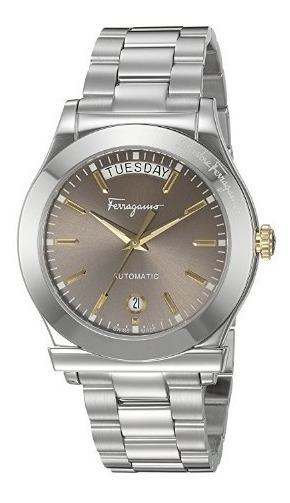 Relógio Suíço Salvatore Ferragamo Automático Limitado Prata