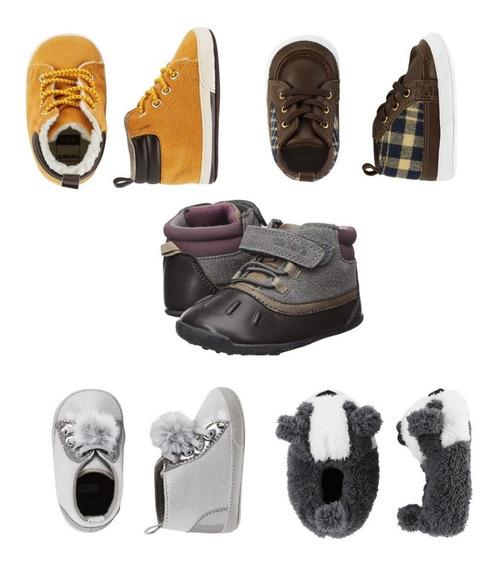 Sapato Bota Pantufa Carters Menino Menina Bebê Infantil