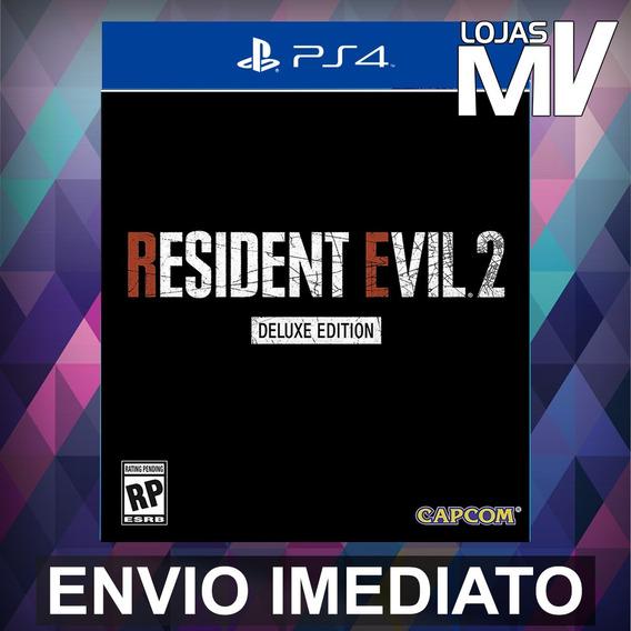 Resident Evil 2 Deluxe Edition Ps4 Código 12 Digitos