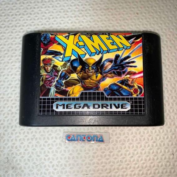 X-men Original Mega Drive Tec Toy Relabel Alta Qualidade