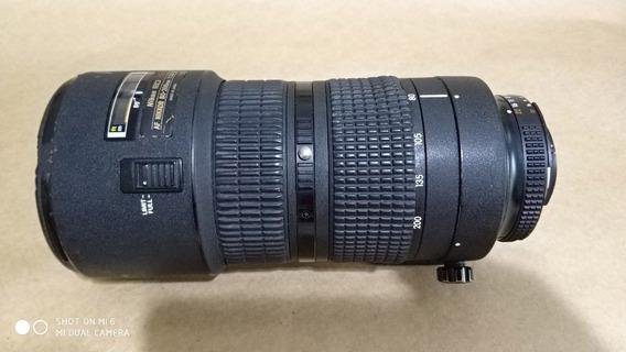Lente Nikon 80-200mm 2.8 Super Conservada Muito Top Mesmo!
