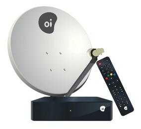 Kit Oi Tv Livre Digital + Antena Completa Para Instalação.