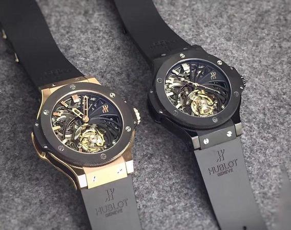 Reloj Hublot - Big Bang Tourbillon Black Skeleton