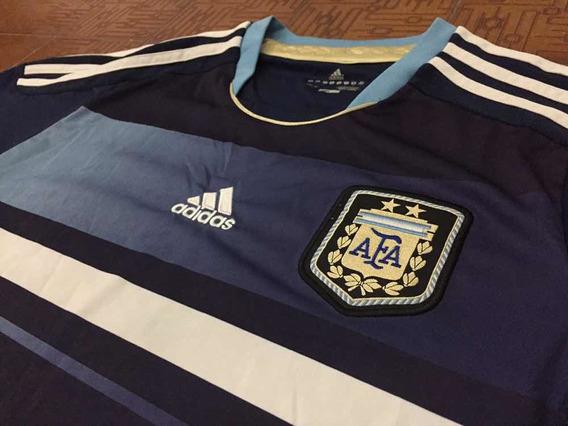 Camiseta Selección Argentina 2012 Azul adidas Original Cool