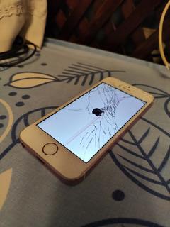 iPhone Se Con Mica Rota