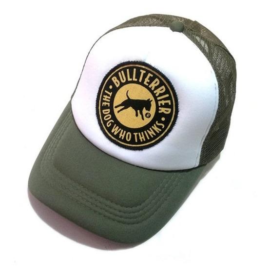 Gorras Trucker Hf ® Verde Militar En Stock Originales!!