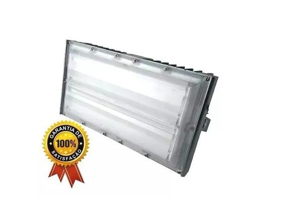 Kit 4 Refletores Industrial 100w Ip68 10.000 Lumens Bivot