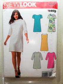 718346e3a Patrón De Costura Vestido De Mujer