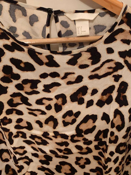 Blusa Animal Print H&m Importado