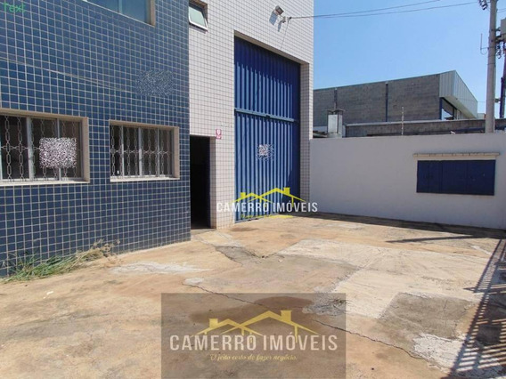Salão Para Alugar, 704 M² Por R$ 5.500,00 - Cidade Industrial - Santa Bárbara D