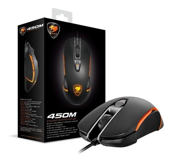 Mouse Cougar Gaming 450m Usb Optical 50-5000 Dpi Black
