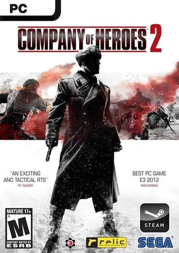 Company Of Heroes 2 Juego Pc Original + Español + Online
