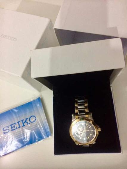 Relógio De Pulso Da Marca Seiko Original Com Certificado
