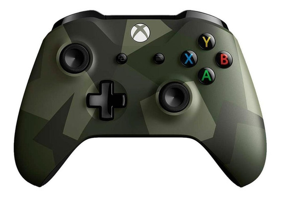 Controle joystick sem fio Microsoft Xbox One armed forces ii special edition