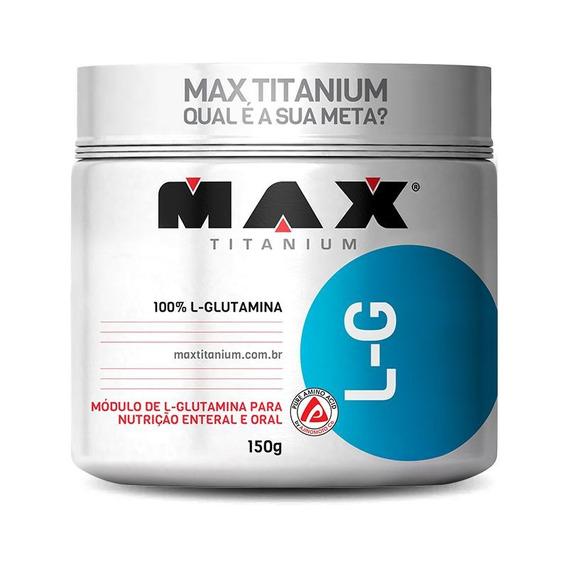 L-g Glutamina (150g) Max Titanium