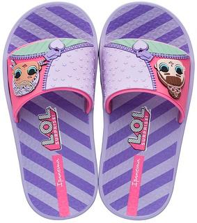 Chinelo Slide Infantil Lol Surprise Grendene Kids 23 Ao 34