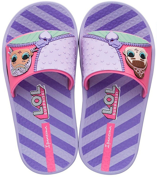 Chinelo Slide Infantil Lol Surprise Grendene Kids 28 Ao 36