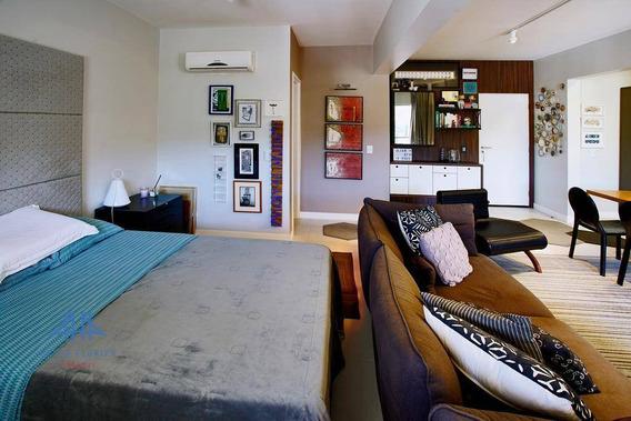 Itacorubi, Apartamento Studio, Finamente Mobiliado, 01 Vaga, Infraestrutura De Lazer Completa, A Venda, Florianópolis, Sc - Ap2458
